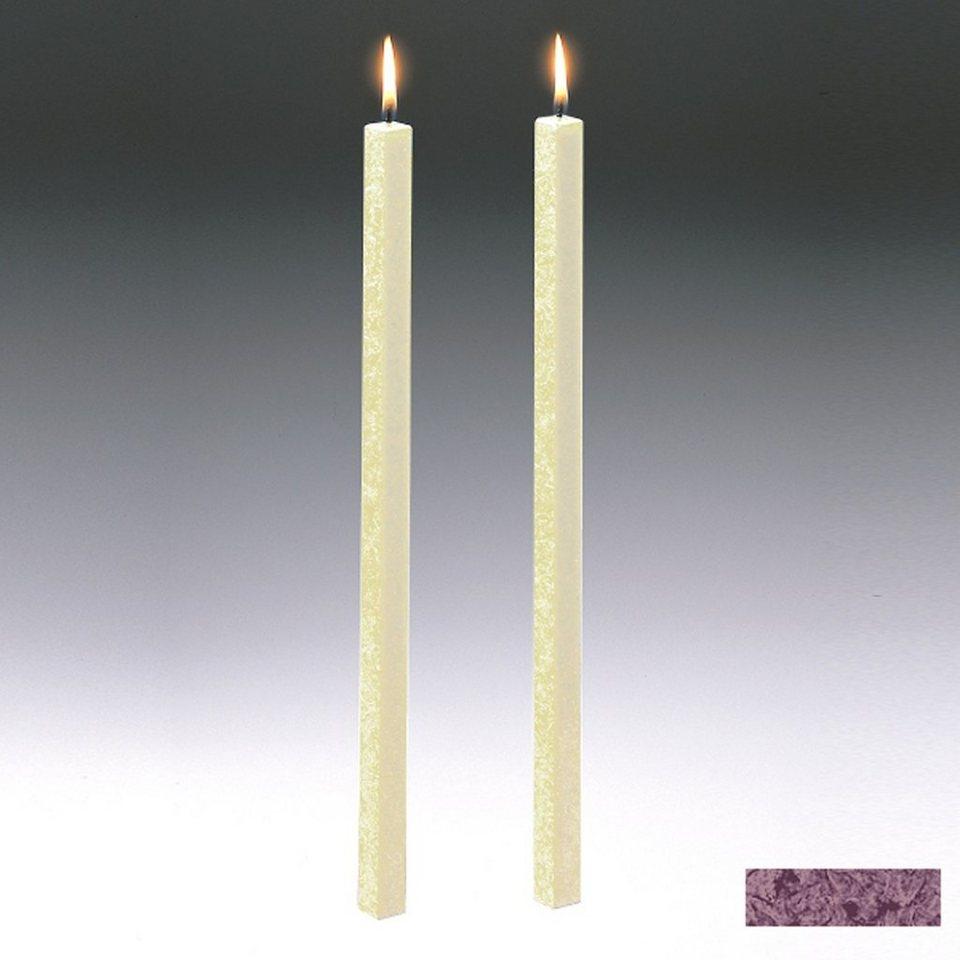 Amabiente Amabiente Kerze CLASSIC Fango 40cm - 2er Set in Fango
