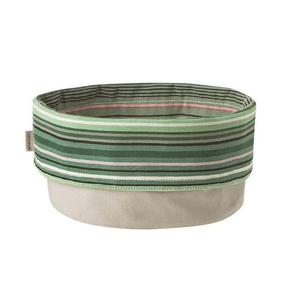 Stelton Stelton Brottasche 23 cm gestreift mint, weiss in gestreift mint, weis