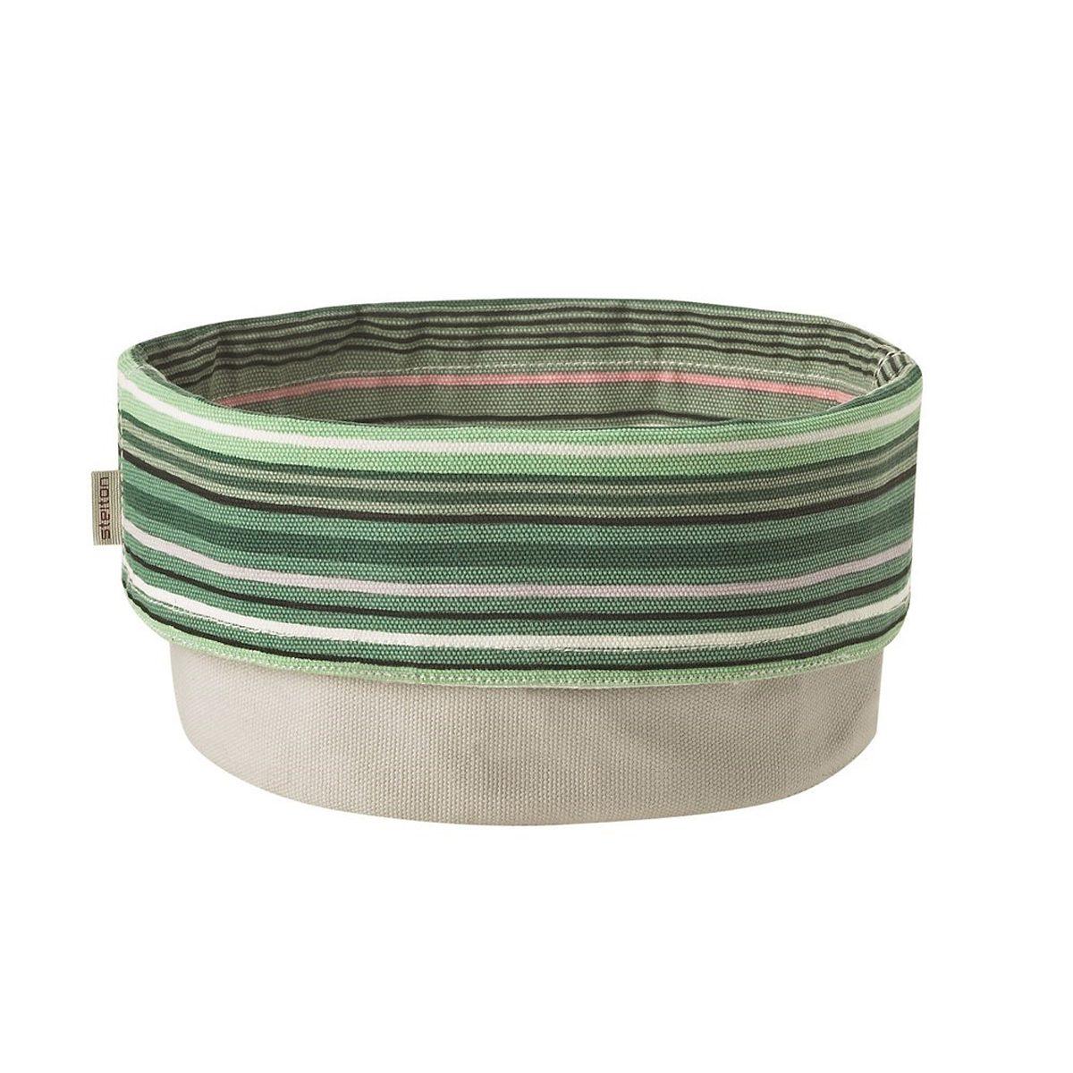 Stelton Stelton Brottasche 23 cm gestreift mint, weiss
