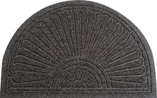 Fußmatte »Gallery Halfmoon«, Kleen-Tex, halbrund, Höhe 10 mm, rutschhemmend beschichtet