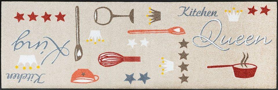 Küchenläufer, wash+dry by Kleen-Tex, »Kitchen Kingdom«, rutschhemmend beschichtet in multicolor