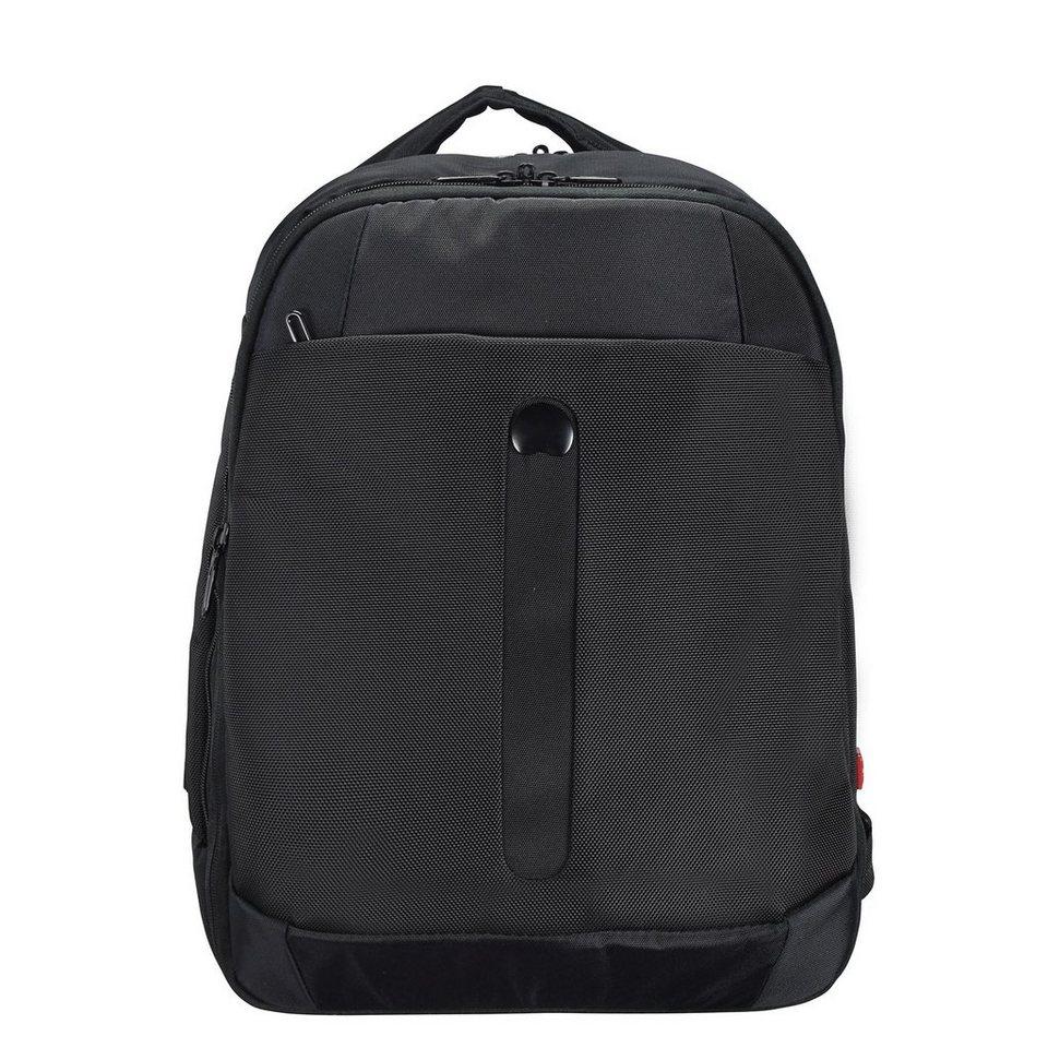 Delsey Bellecour Rucksack 38 cm Laptopfach in schwarz