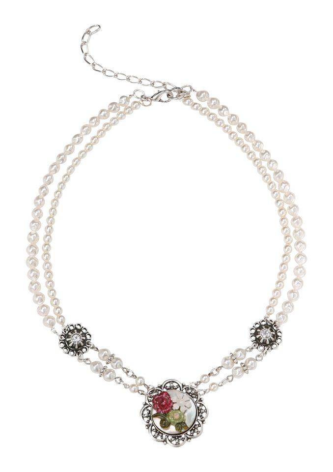 Trachtenkette mit Perlen