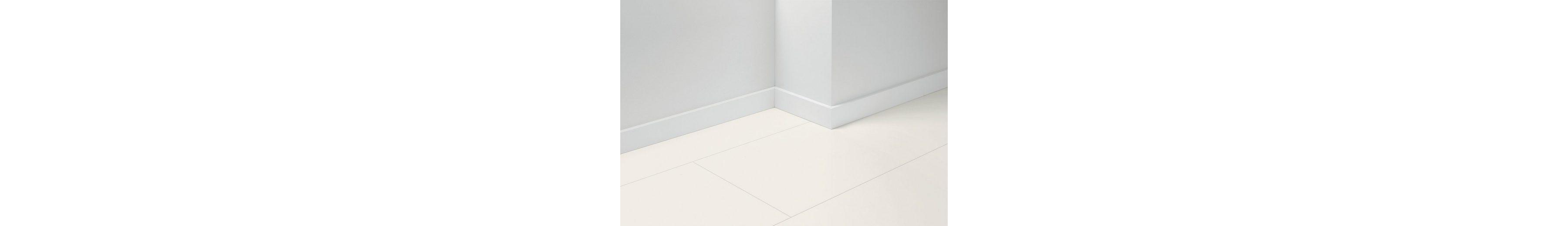 Sockelleisten »SL5« passend zum Parkett »Basic«, uni weiß Nachbildung