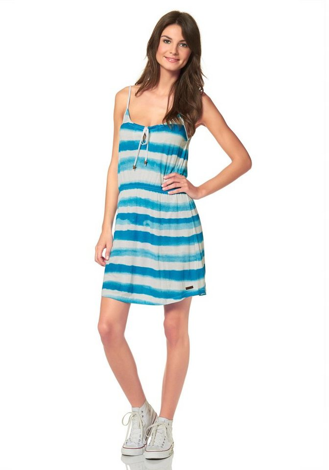Protest BYLEY DRESS Sommerkleid in Blau-Weiß