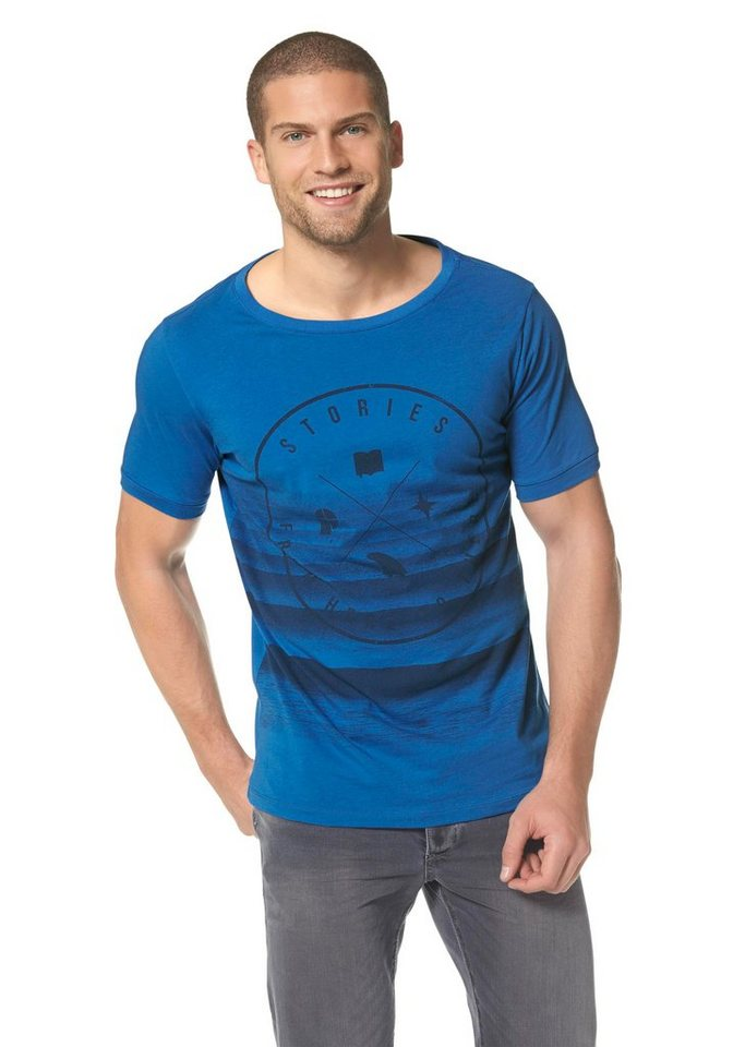 Protest BACKSTOP T-SHIRT T-Shirt in Blau