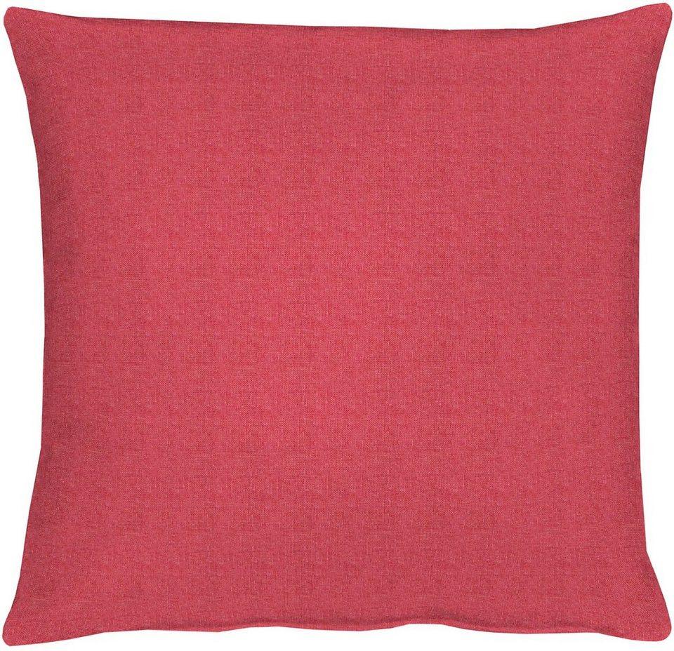 Kissenhüllen, Apelt, »TOSCA Leinen - Uni« (1 Stück) in pink