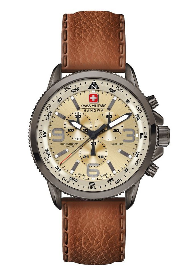 "Swiss Military Hanowa, Chronograph, ""ARROW CHRONO, 06-4224.30.002"" in braun"