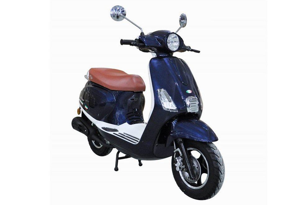 Mofaroller, 50 ccm, 3 PS, 25 km/h, für 1 Person, blau, »IBIZA«, IVA in blau