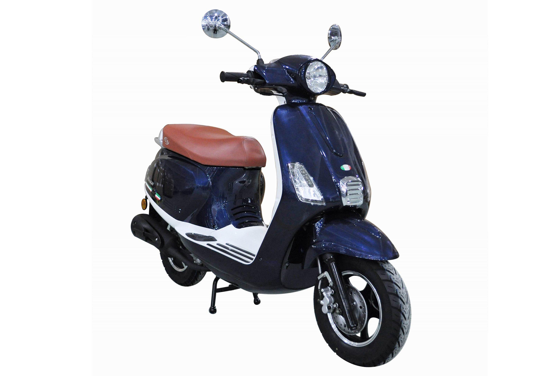 Mofaroller, 50 ccm, 3 PS, 25 km/h, für 1 Person, blau, »IBIZA«, IVA
