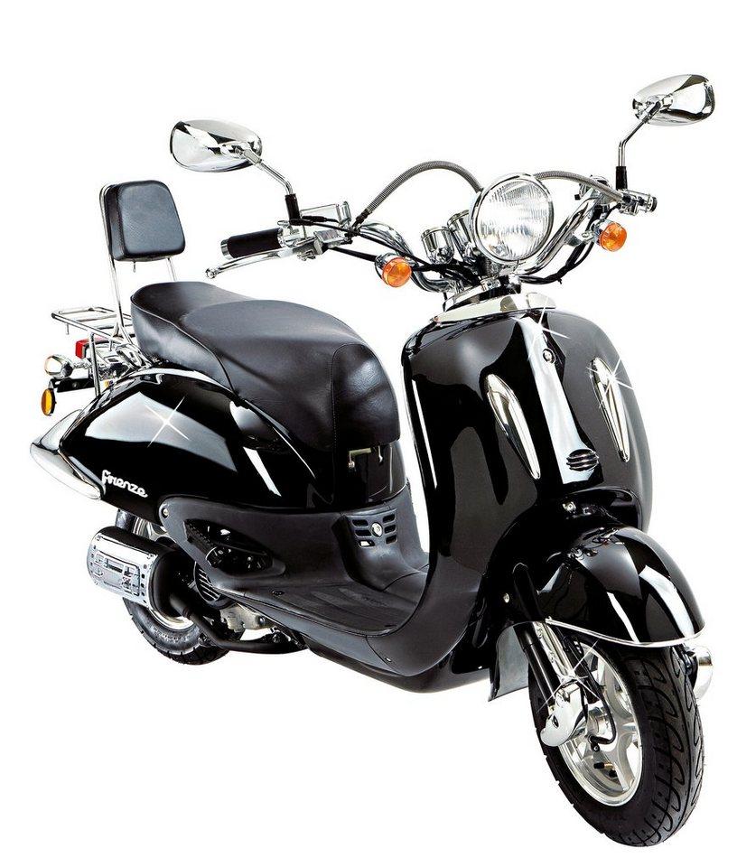 flex tech motorroller retro firenze 125 ccm 80 km h online kaufen otto. Black Bedroom Furniture Sets. Home Design Ideas