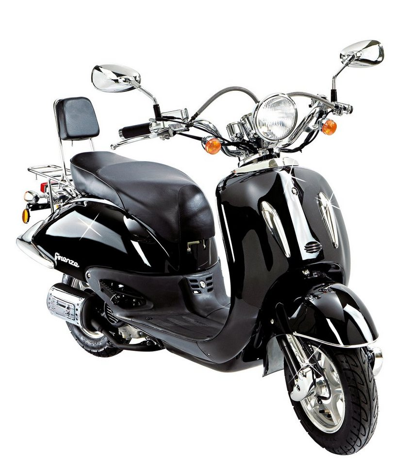 flex tech motorroller retro firenze 125 ccm 85 km h online kaufen otto. Black Bedroom Furniture Sets. Home Design Ideas