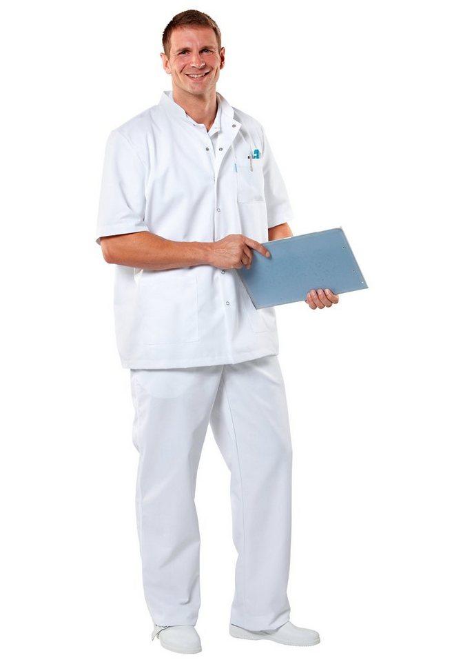 Pflegerhose in weiß