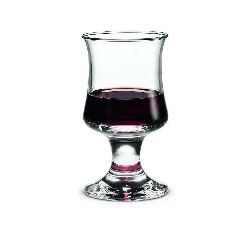 HOLMEGAARD HOLMEGAARD Rotweinglas SKIBSGLAS 25 cl in Rauchig-Transparent