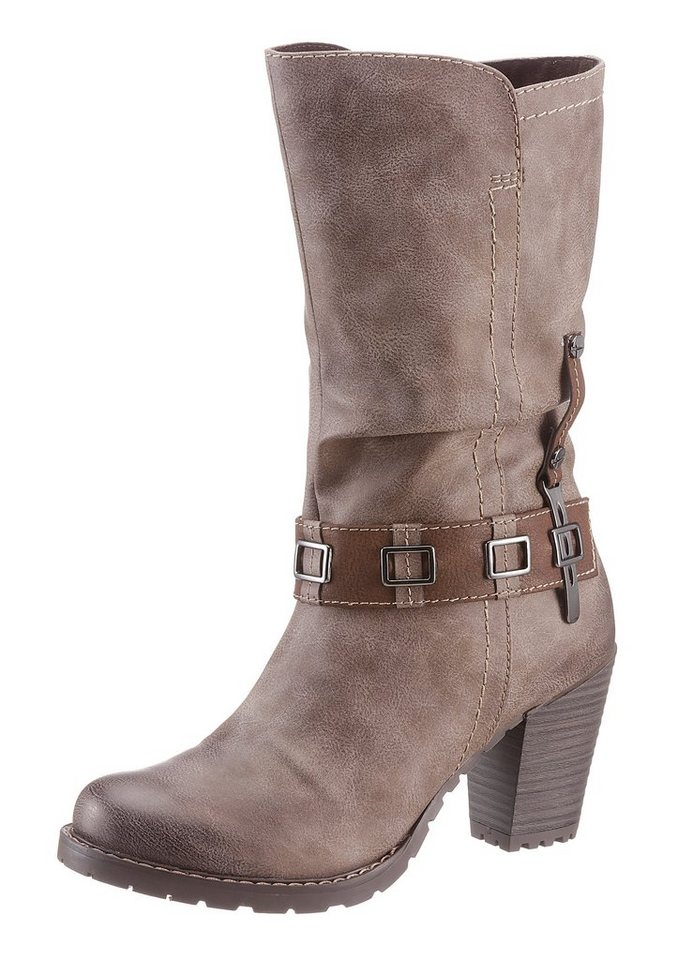 Tamaris Stiefel in taupe used