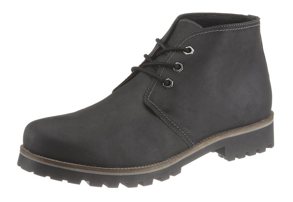 Grey Connection Schnür Boots in schwarz