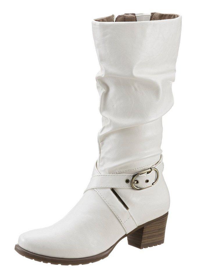 Tamaris Stiefel in weiß