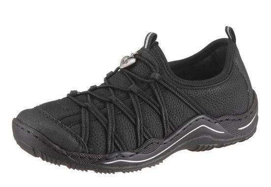 on Mit Gummizug Sneaker Rieker Slip 5q844w0