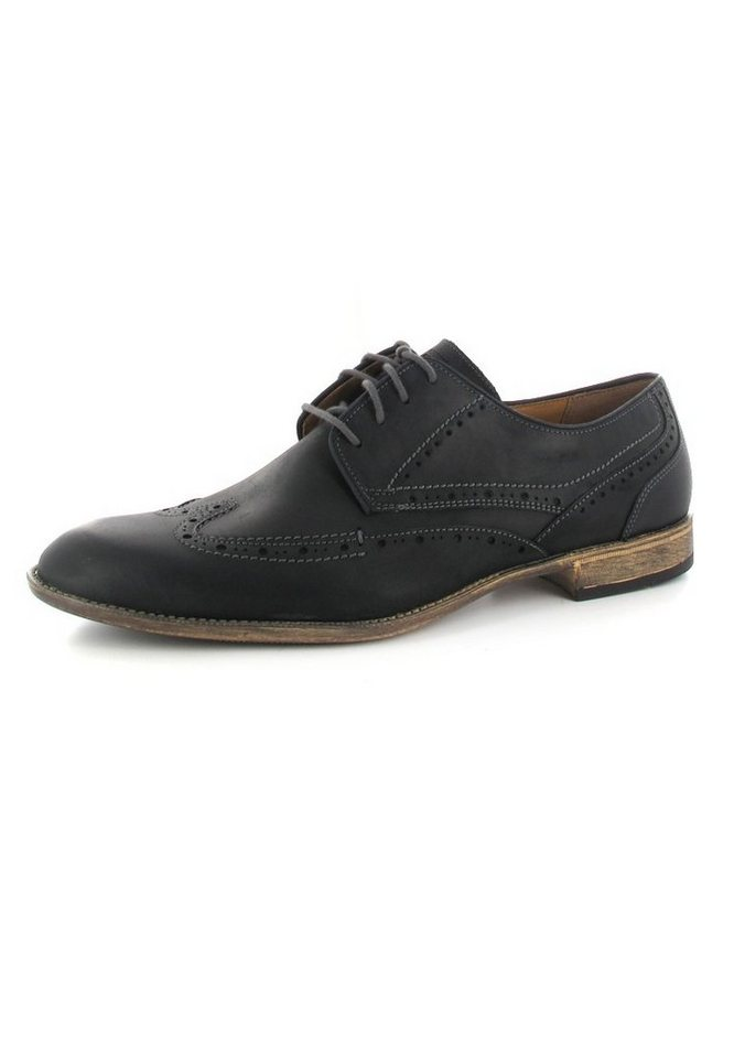 Fretz Men Businessschuhe in Schwarz