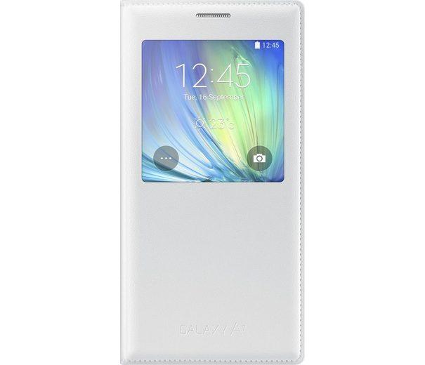 Samsung Handytasche »S-View Cover EF-CA700 für Galaxy A7, Weiß«