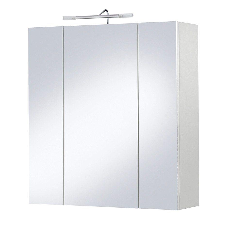 Spiegelschrank »Palma«, Halogenbeleuchtung, Breite 65 cm in weiß