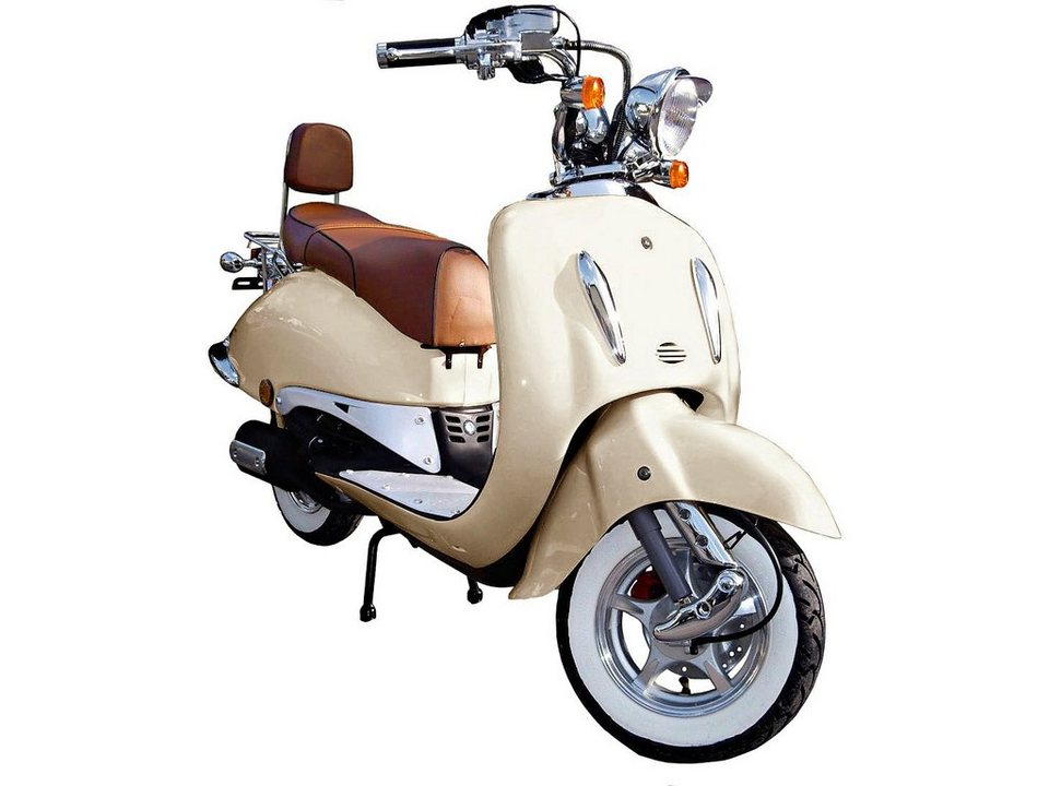 Motorroller »Strada«, 50 ccm, 45 km/h in natur
