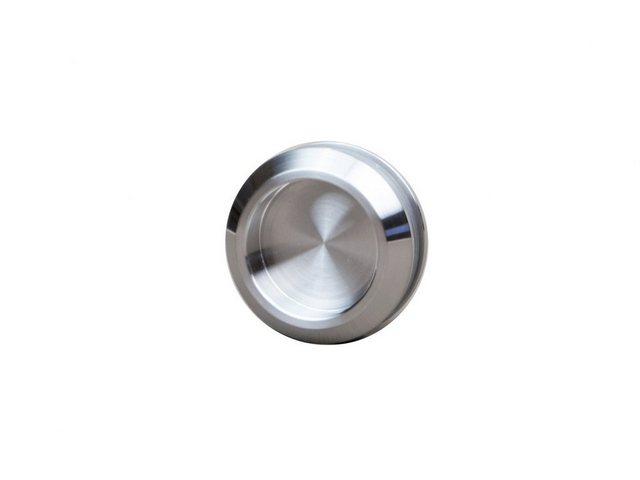 Levidor Glasschiebetür Eco, Horizont-Streifen-Dekor