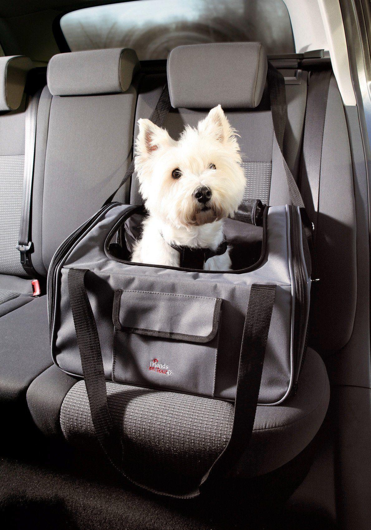 Hunde-Tragetasche »Autositz- und Tasche«