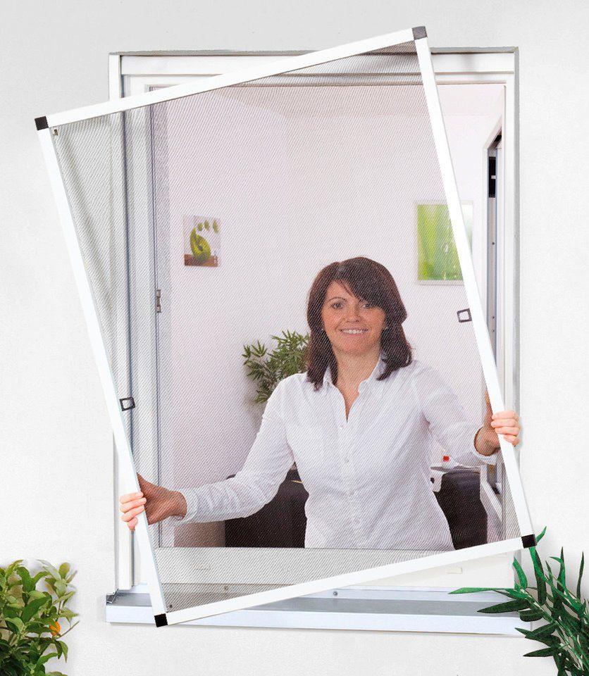 CULEX Insektenschutz-Fenster »Basic«, Bausatz BxH: 100x120 cm, braun