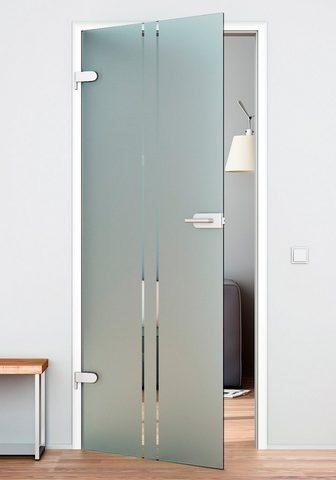 GLASTÜRKONTOR HAMBURG Stiklinės vidaus durys »Vertikal« vers...