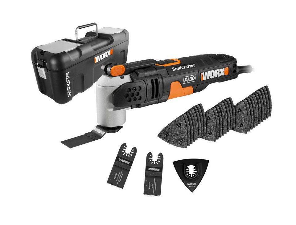 Worx Multifunktionswerkzeug »WX680 / Sonicrafter F30« in schwarz