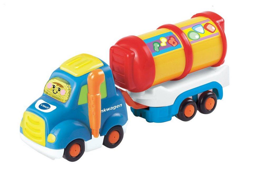 Set: Tankwagen & Anhänger, »VTech Baby, Tut Tut Baby Flitzer-Tankwagen & Anhänger«, VTech