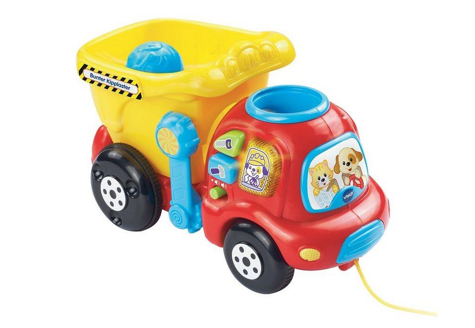 VTech Lernspiel Fahrzeug, »VTech Baby, Bunter Kipplaster«