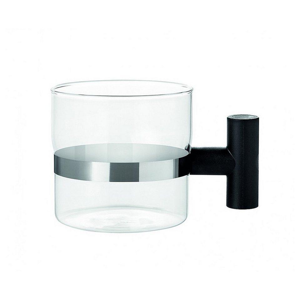 Stelton Stelton Teetassen T-Tasse, 2er Set in transparent, schwarz