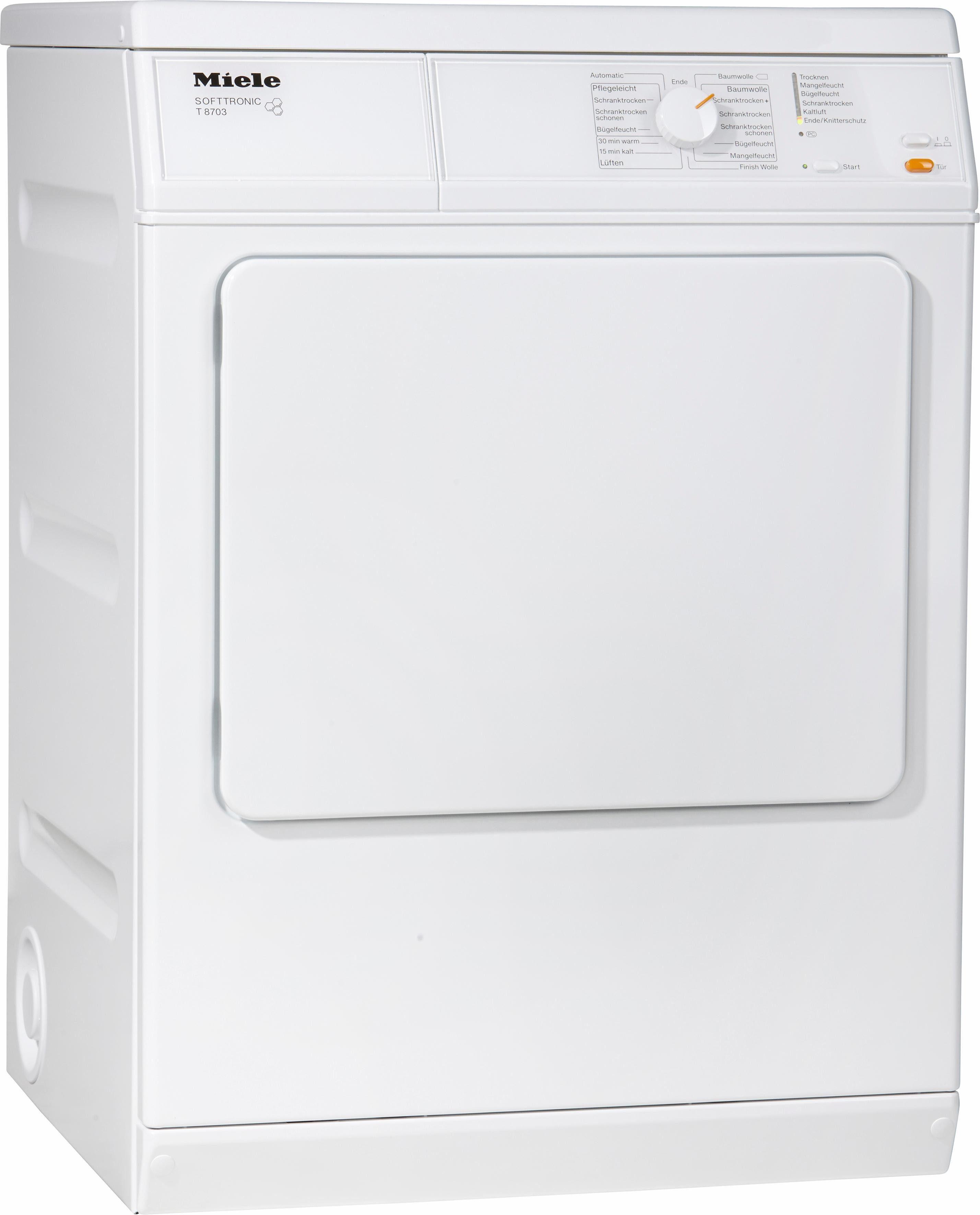 MIELE Trockner T 8703, C, 7 kg