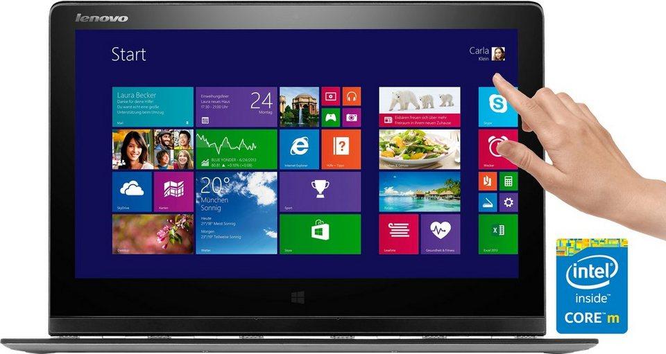 Lenovo Idea YOGA 3-PRO Convertible Notebook, Intel Core M, 33,7 cm (13,3 Zoll), 256 GB Speicher in Silber