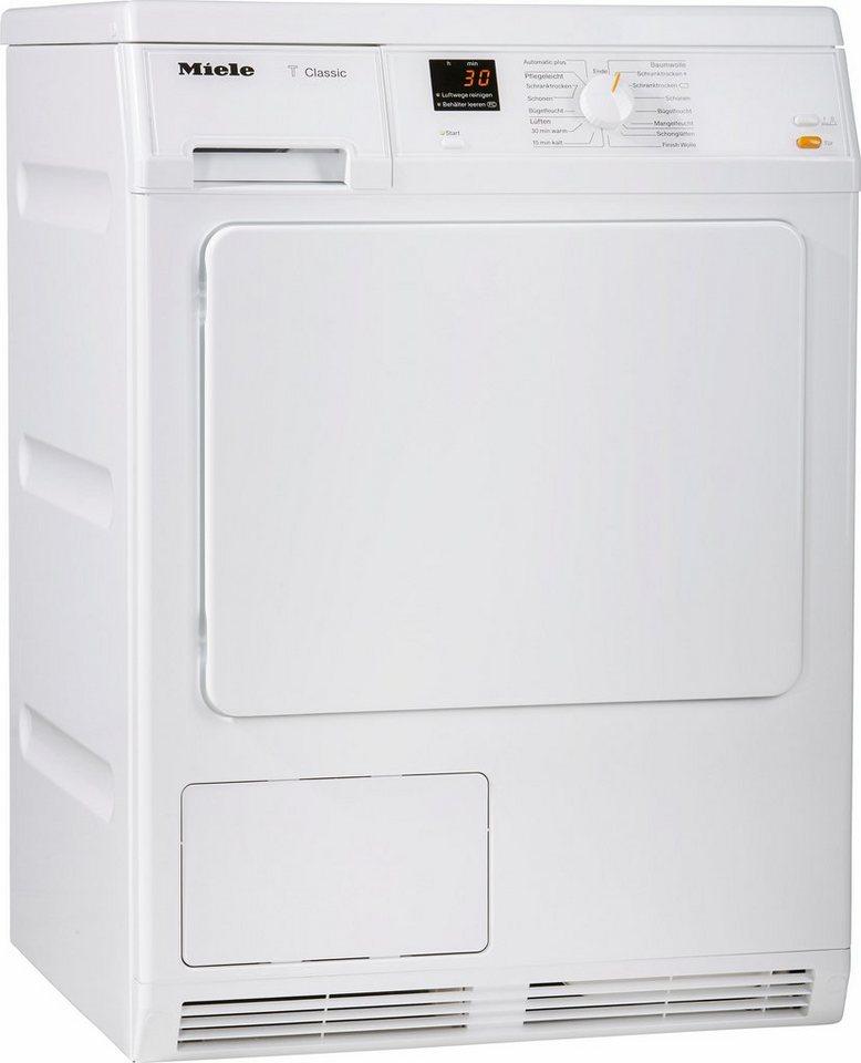 MIELE Trockner TDA 150 C, B, 7 kg in weiß