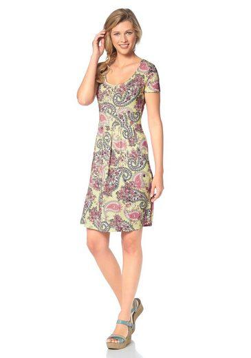 Cheer Sommerkleid, mit angesagtem Paisley-Druckdessin