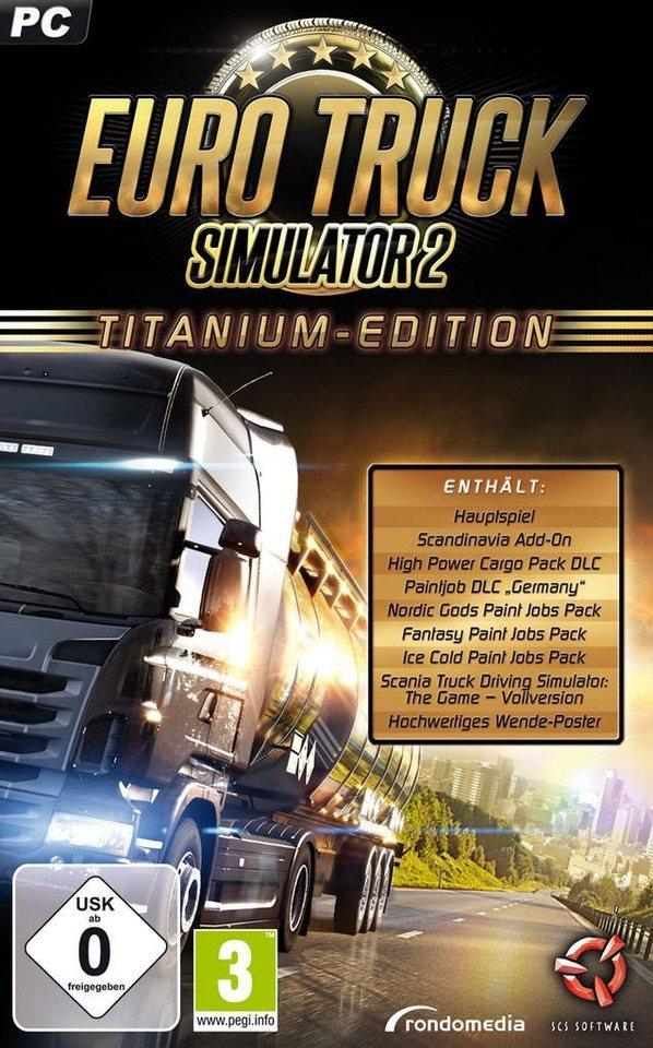 rondomedia pc spiel euro truck simulator 2 titanium. Black Bedroom Furniture Sets. Home Design Ideas