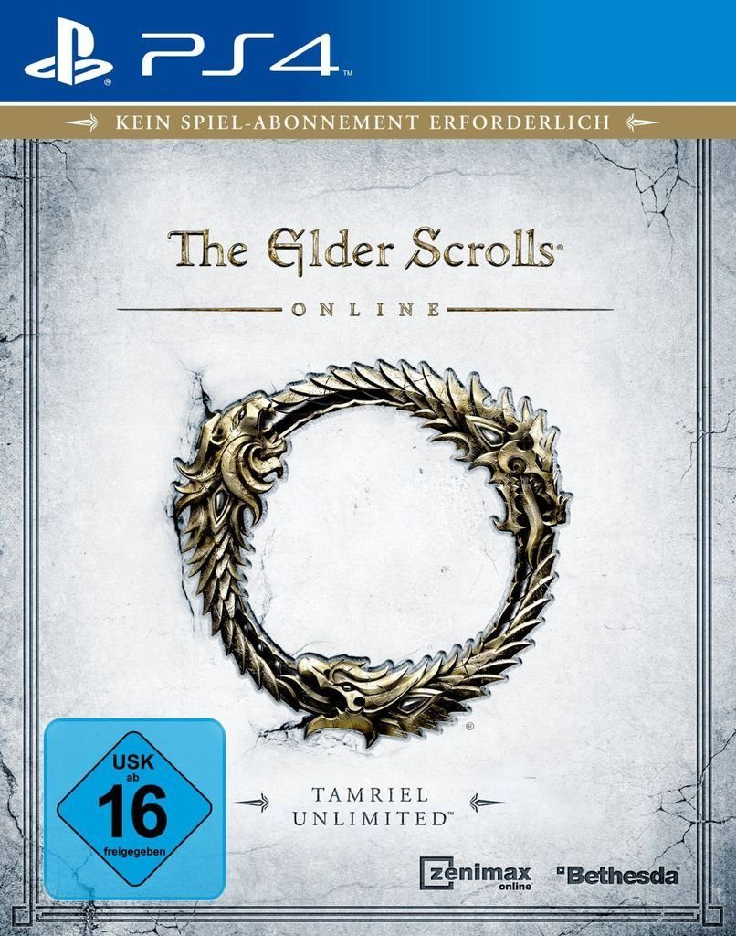 Bethesda Playstation 4 - Spiel »The Elder Scrolls Online: Tamriel Unlimited«