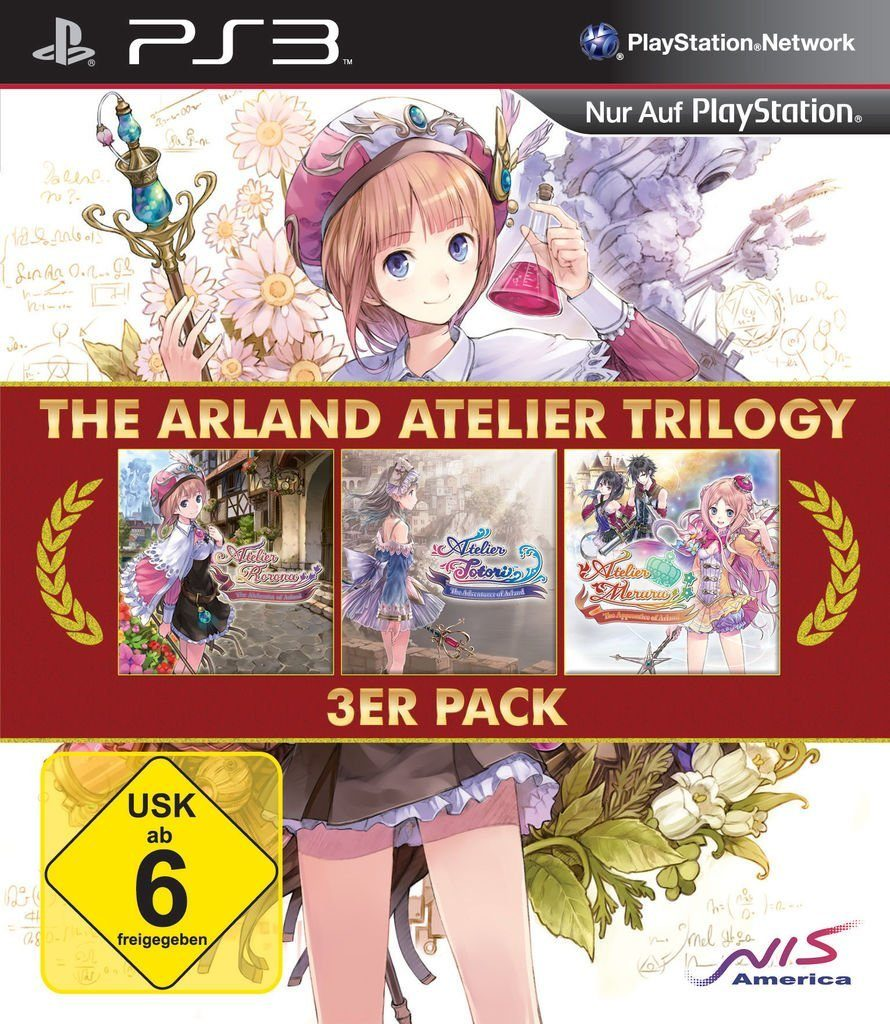 NIS Playstation 3 - Spiel »Atelier Arland Trilogy«