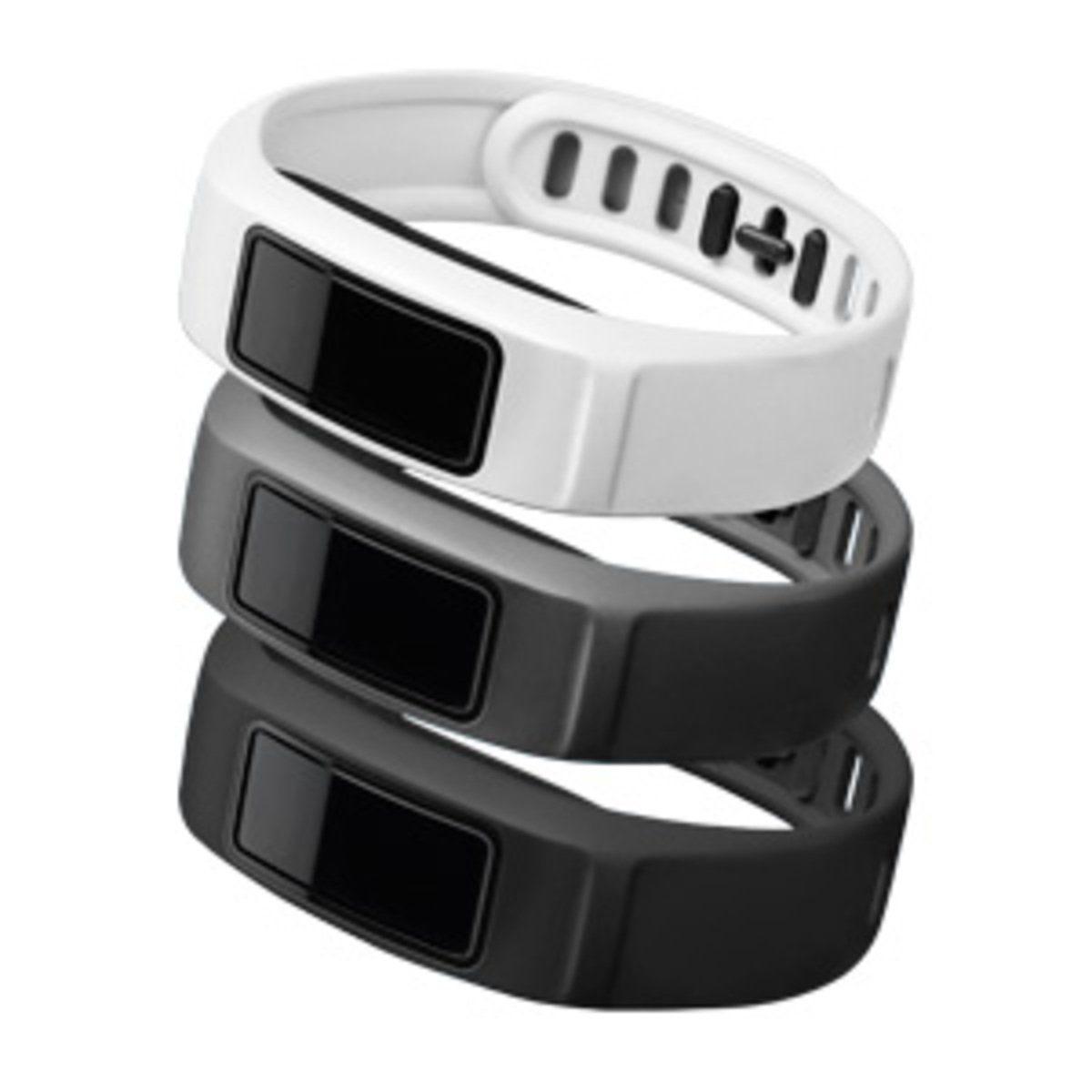 Garmin Ersatz-/Wechselarmband »Armbänder vivofit 2 - Weiß, Grau, Schwarz (L)«