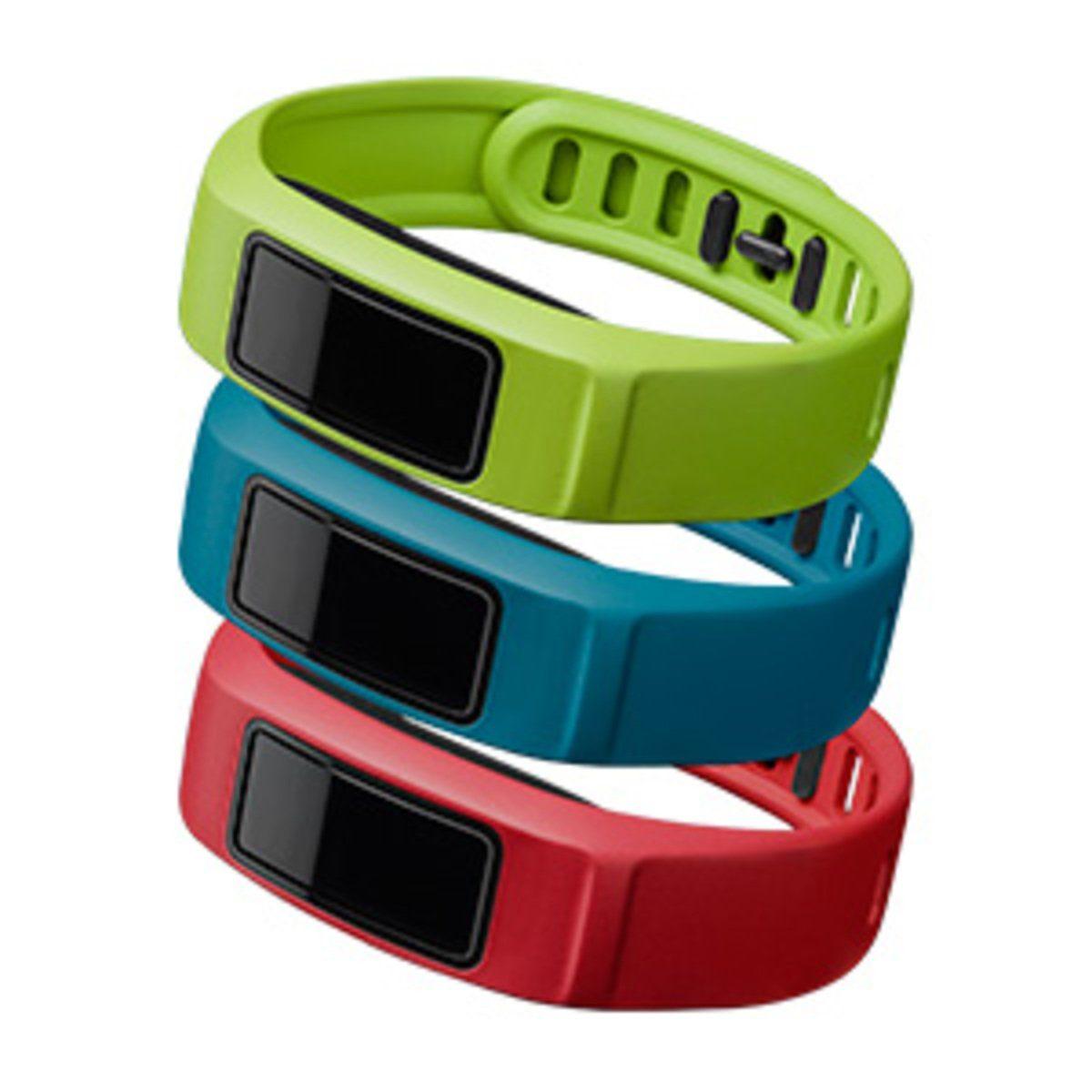 Garmin Ersatzarmbänder »Armbänder vívofit 2 - Grün, Rot, Blau (L)«