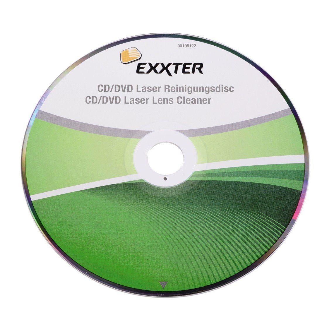 Exxter CD-/DVD-Laserreinigungsdisc