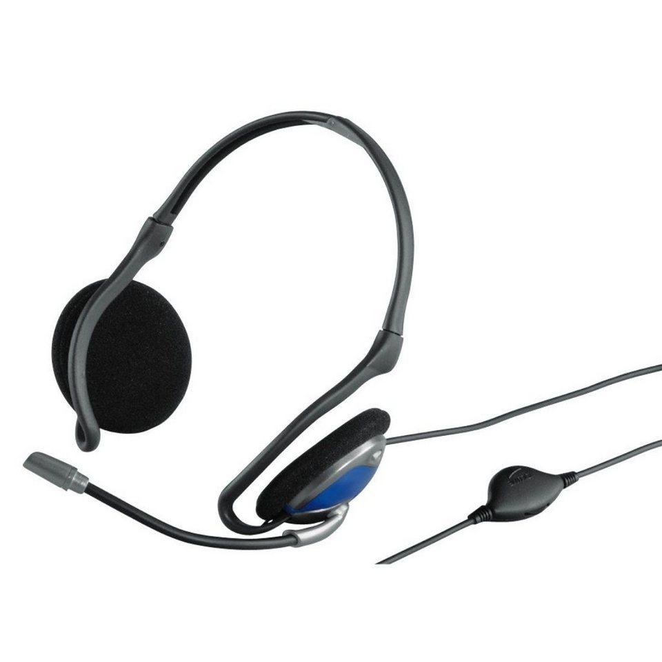 Exxter PC-Nacken-Headset HE-200 in Schwarz