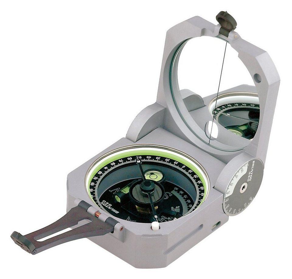 Brunton Kompass »Pocket Transit Geo 0-360°« in grau