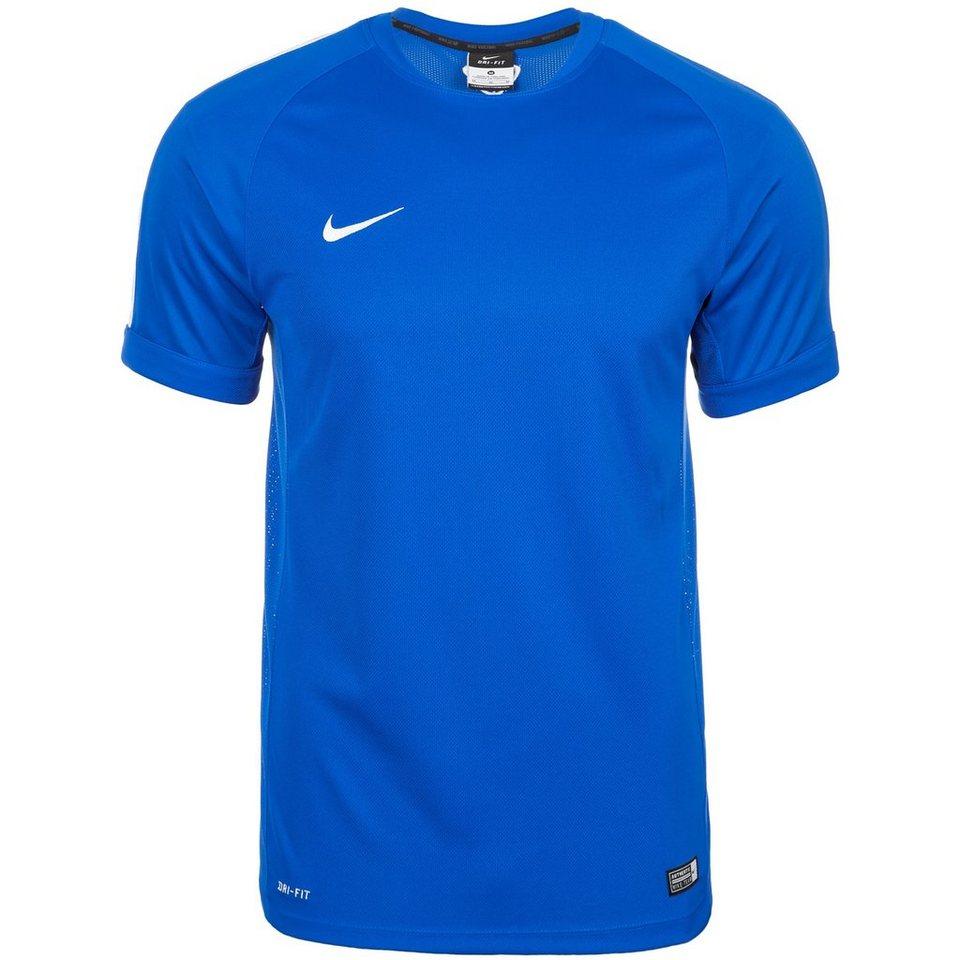NIKE Squad 15 Flash Trainingsshirt Herren in blau / weiß