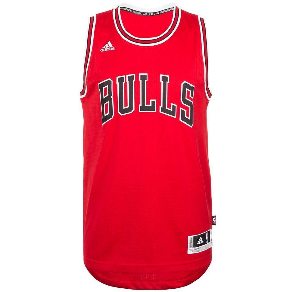 adidas Performance Chicago Bulls Swingman Basketballtrikot Herren in rot / schwarz / weiß
