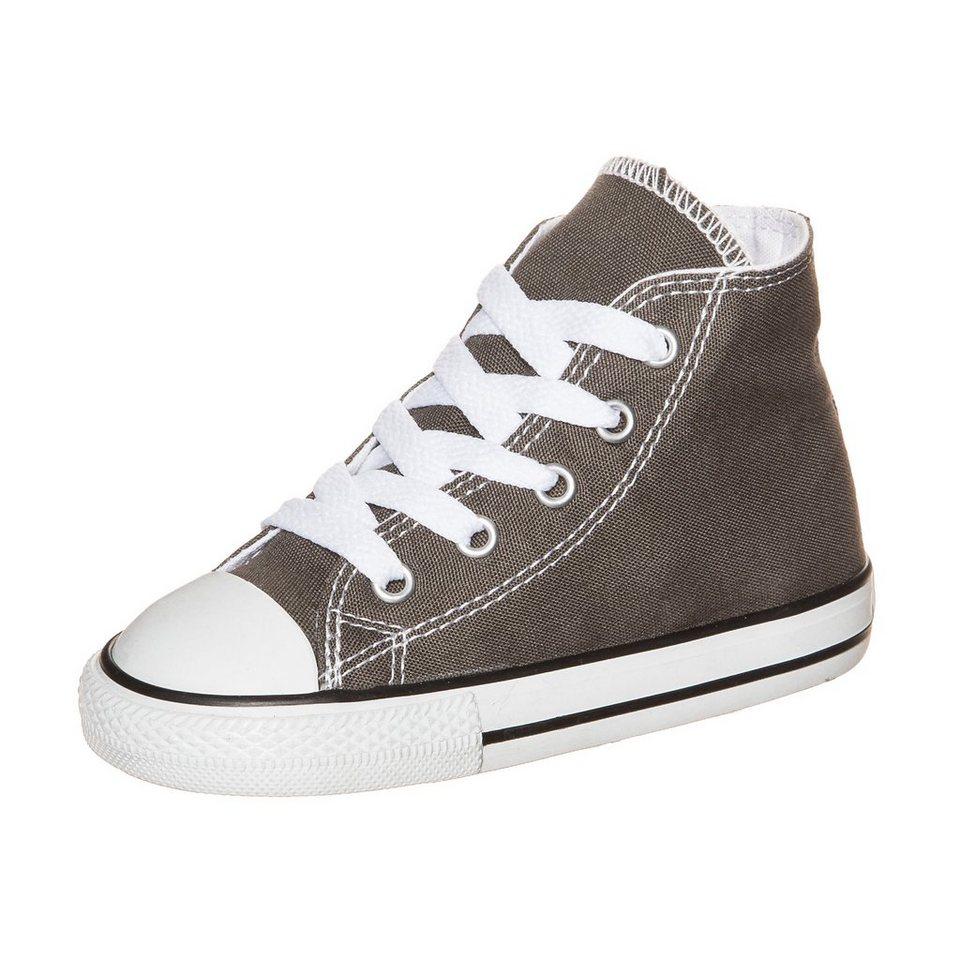 CONVERSE Chuck Taylor All Star High Sneaker Kleinkinder in grau / weiß