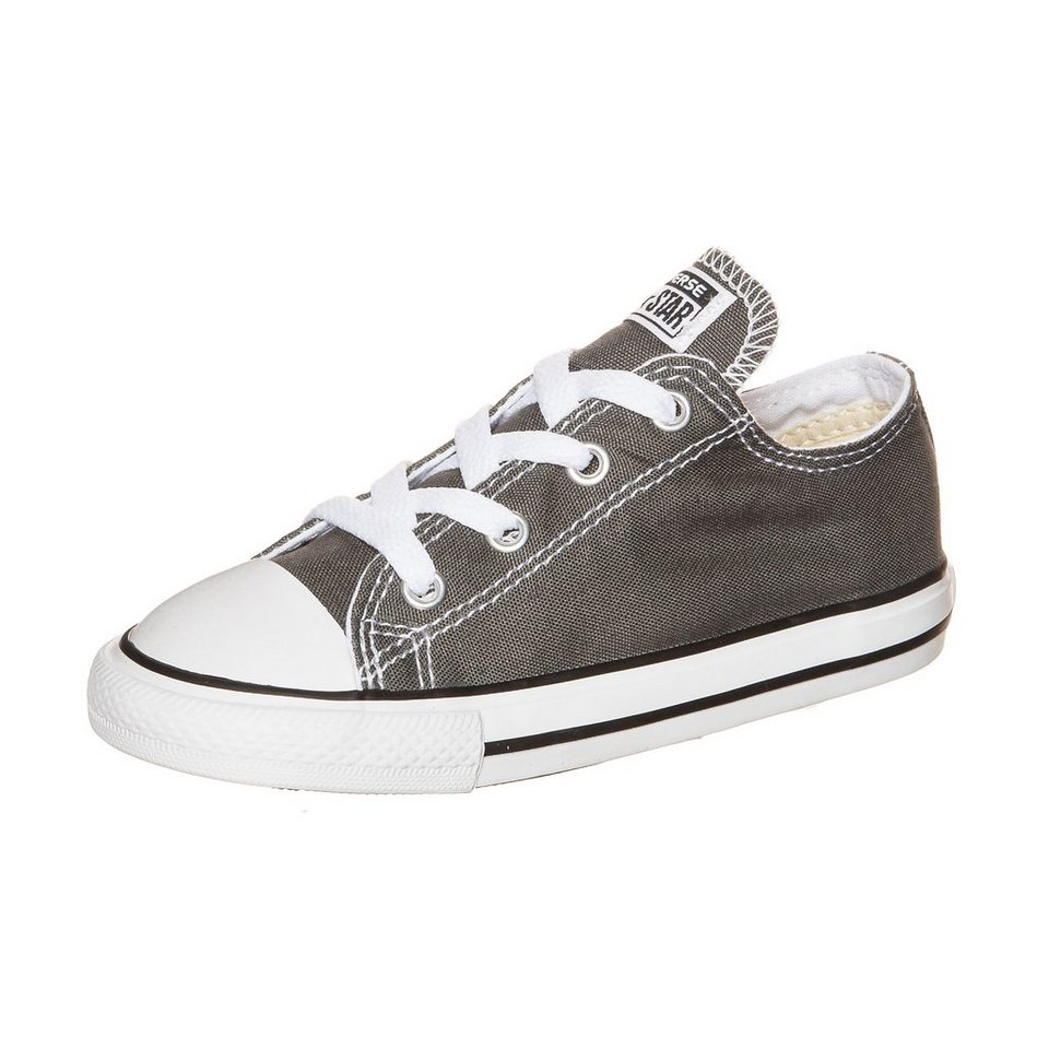 CONVERSE Chuck Taylor All Star OX Sneaker Kleinkinder in grau / weiß